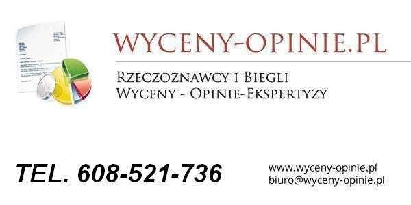 wycena firm, spółek, udziałów, akcji tel. 608-521-736